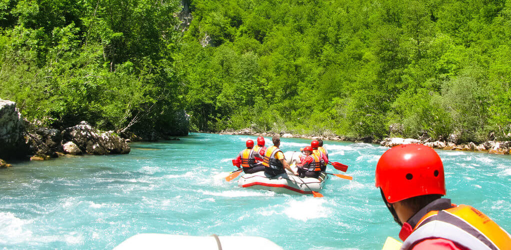 впечатления от Черногории рафтинг