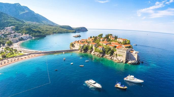 впечатления от Черногории, свети стеван