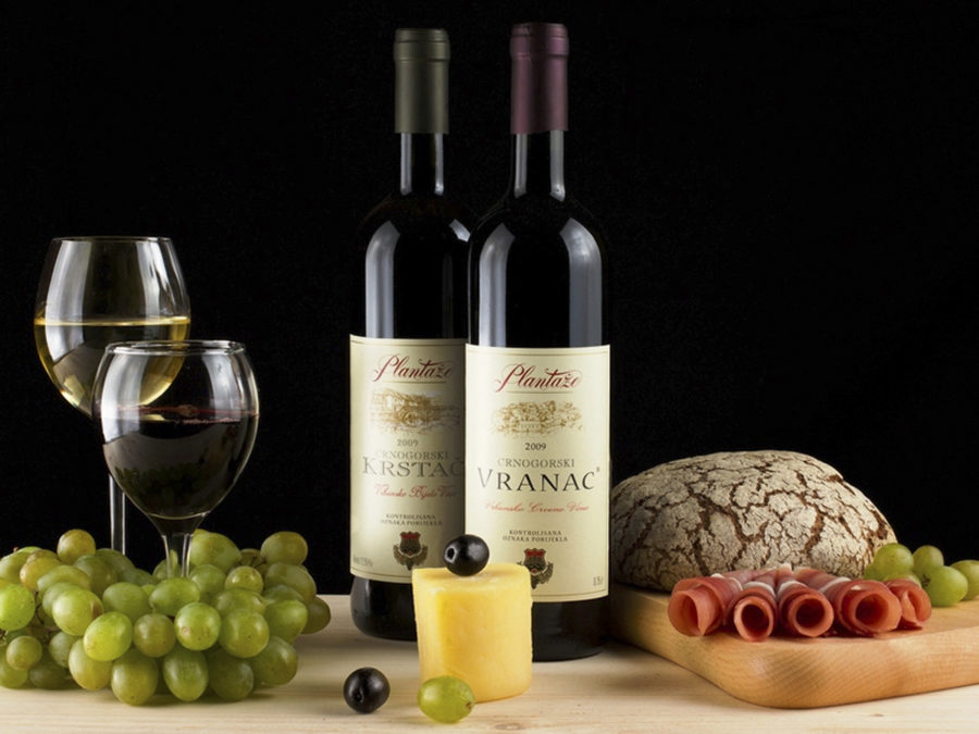 Сувениры из Черногории вранацкое вино